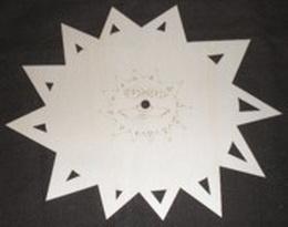 Hodiny slunce typ A bez čísel - zvětšit obrázek