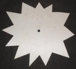 Hodiny slunce typ B bez èísel - zvìtšit obrázek