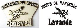 Razítko pøekližka Lavande-Savon de.... v.7,4x10,8cm