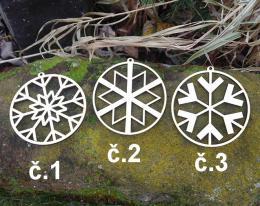 2D výøez ozdoba vloèka è.3-pr. 8cm - zvìtšit obrázek