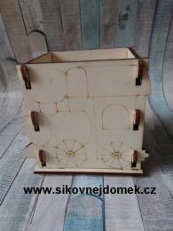 Krabièka na tužky mašinka NT v.11x12x9cm