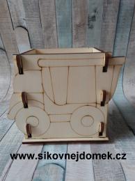 Krabièka na tužky náklaïák v.11x13,5x9cm   - zvìtšit obrázek