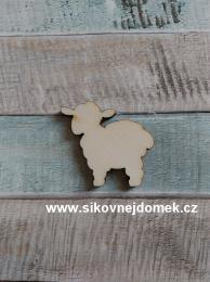 Výøez oveèka è.2 - 3x3,2cm-síla mat.0,4cm - zvìtšit obrázek