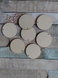 2D výøez pøívìsek kruh pr. 3,9cm-cena za ks
