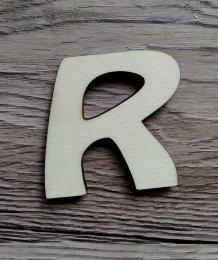 -2D výøez písmeno R v.cca 7cm ozd.
