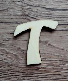 -2D výøez písmeno T v.cca 7cm ozd.