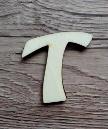 *2D výøez písmeno T v.cca 4,2cm ozd.