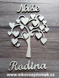 Strom Naše Rodina srdíčka - zvětšit obrázek