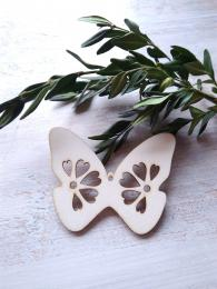 2D výøez motýlek è.2 - v.5x6,5cm - síla mat.0,3cm - zvìtšit obrázek