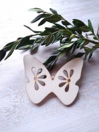 2D výøez motýlek è.1 - v.5x6,5cm - síla mat.0,3cm - zvìtšit obrázek