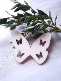 2D výøez motýlek è.3 - v.5x6,5cm - síla mat.0,3cm - zvìtšit obrázek
