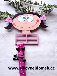 Sponkovník holčička č.3 - dekor - zvětšit obrázek