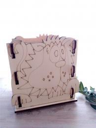 Krabièka - stojánek na tužky LEV - 10,5x v.12x9cm