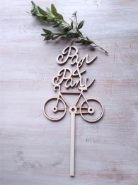 Zápich Pan+Paní-kolo cykl.,síla mat.0,4cm - zvìtšit obrázek
