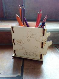 Krabička na tužky dinoaurus č.2 -v.11x13,5x9cm - zvětšit obrázek
