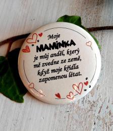 Magnet pr.5cm-SV.P., Moje maminka... - zvìtšit obrázek