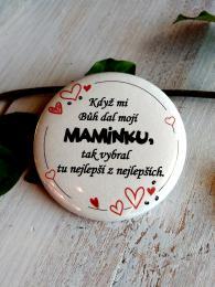 Magnet pr.5cm-SV.P., Když mi Bùh dal... - zvìtšit obrázek