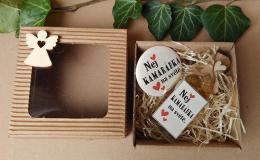Dárkovì balená medovinka 20ml+magnet Nej kamarádka v papírové krabièce