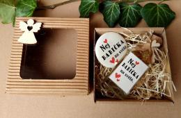 Dárkovì balená medovinka 20ml+magnet Nej babièka v papírové krabièce