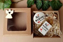Dárkovì balená medovinka 20ml+magnet Nej maminka v papírové krabièce