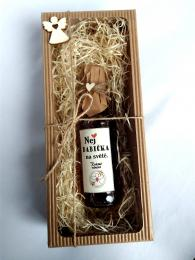 Dárkovì balená medovinka 200ml-Nej babièka v papírové krabièce