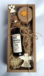 Dárkovì balená medovinka 200ml+med 150g-Nej dìdeèek v papírové krabièce - zvìtšit obrázek