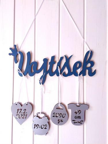 Jméno Vojtíšek+narození -dekor