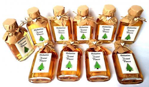 Medovina 100ml - Krásné vánoce, stromeèek, sv.pøírodní, cena za ks - zvìtšit obrázek